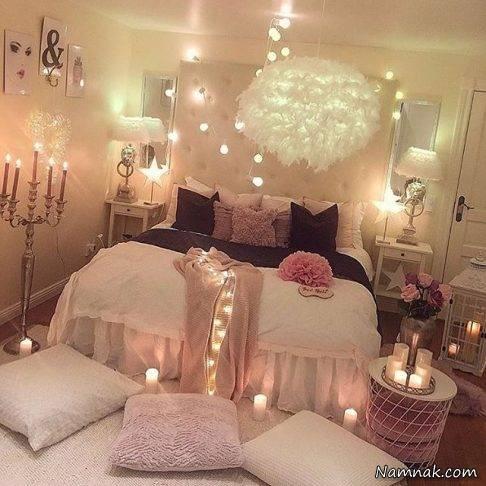 عکس های اتاق خواب عروس و داماد