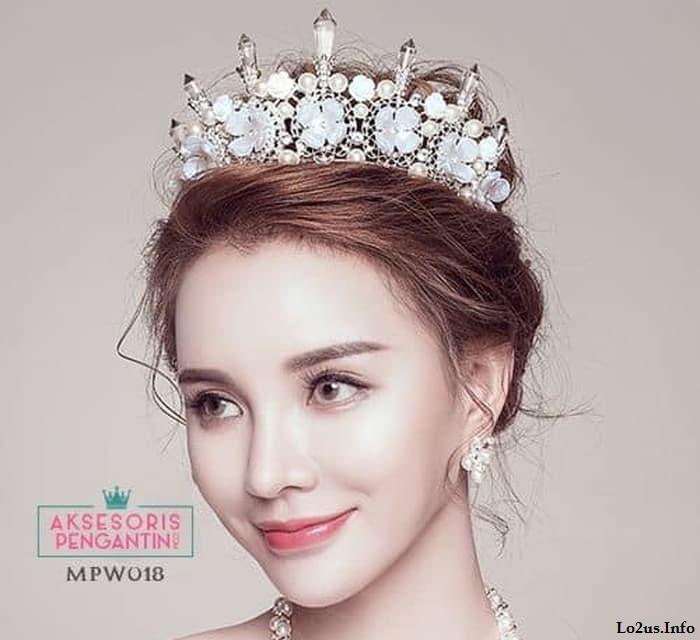 مدل آرایش عروس زیبا جدید