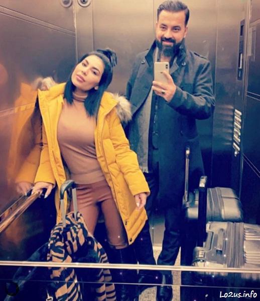 عکس اریانا سعید و نامزدش