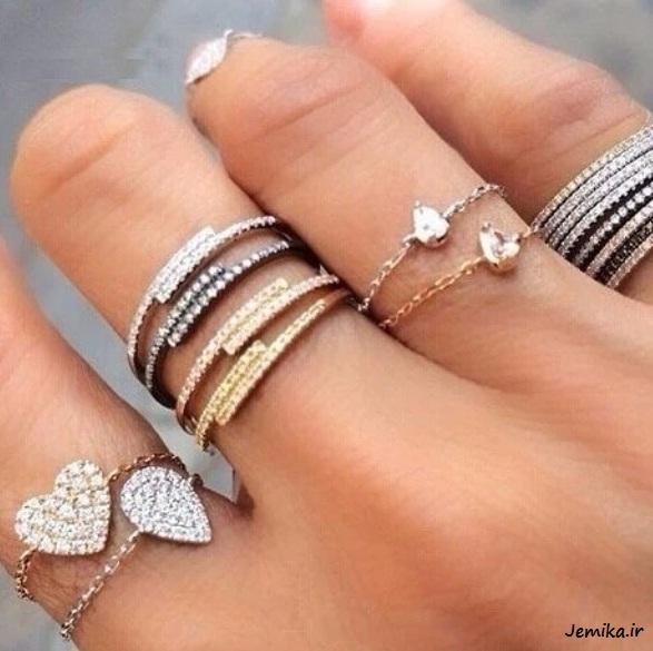 انگشتر دخترانه و زنانه خاص