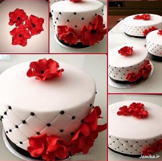 عکس کیک سالگرد ازدواج جدید