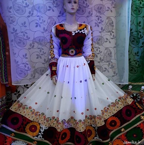 لباس شب حنابندان افغانی