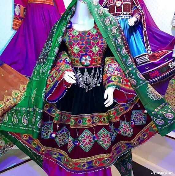 womens afghan dress