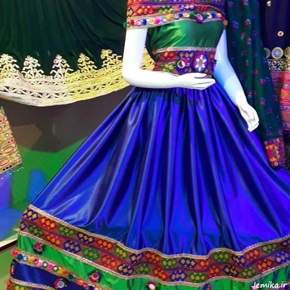لباس گند افغانی دخترانه