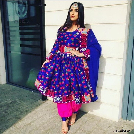 مقول ترین مدل لباس افغانی