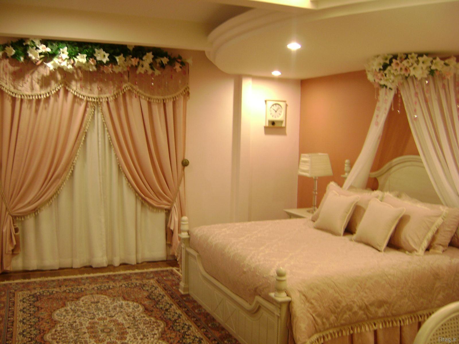 عکس اتاق خواب عروس و داماد