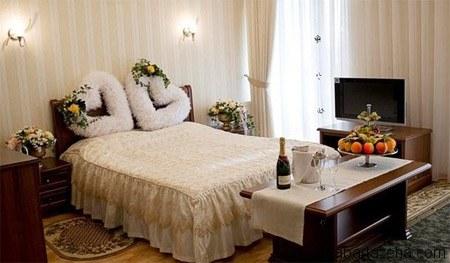 دکوراسیون اتاق خواب عروس و داماد