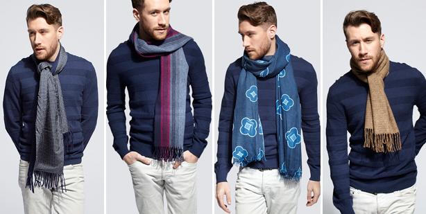 اموزش بستن مدل کلاه و شال بافتنی مردانه زمستانی