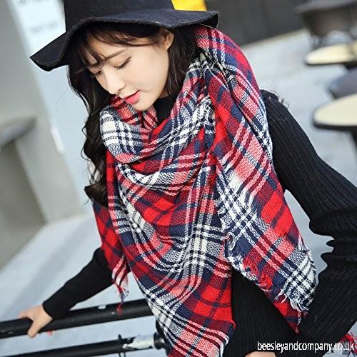 مدل کلاه و شال گردن جدید دخترانه کره ایی