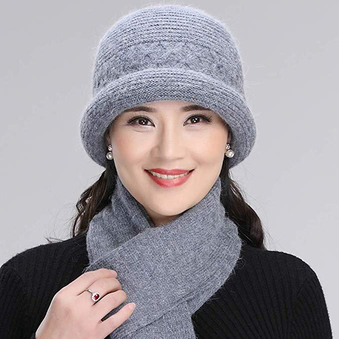 مدلهای کلاه و شال گردن بافتنی زنانه و دخترانه پاییزی و زمستانی