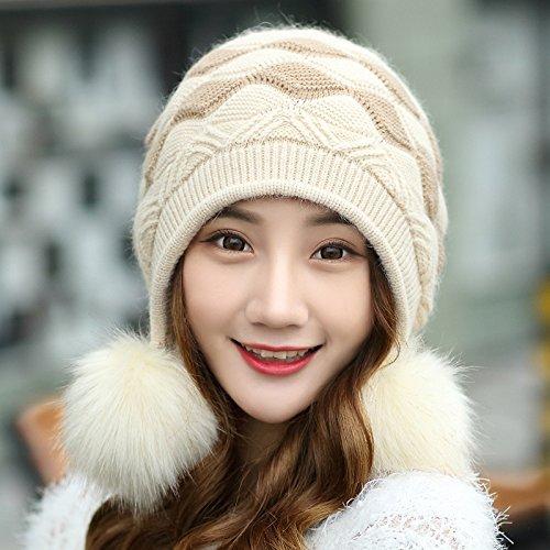 مدل های کلاه و شال گردن زمستانی ویژه دختر خانمها