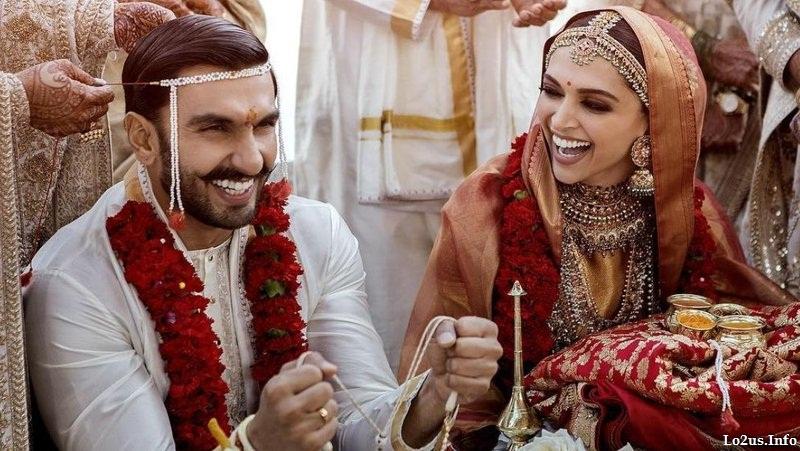 عکسهای عروسی دیپیکا پادوکونه بازیگر هندی با رانویر سینگ