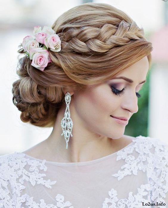 مدل ارایش عروس خارجی
