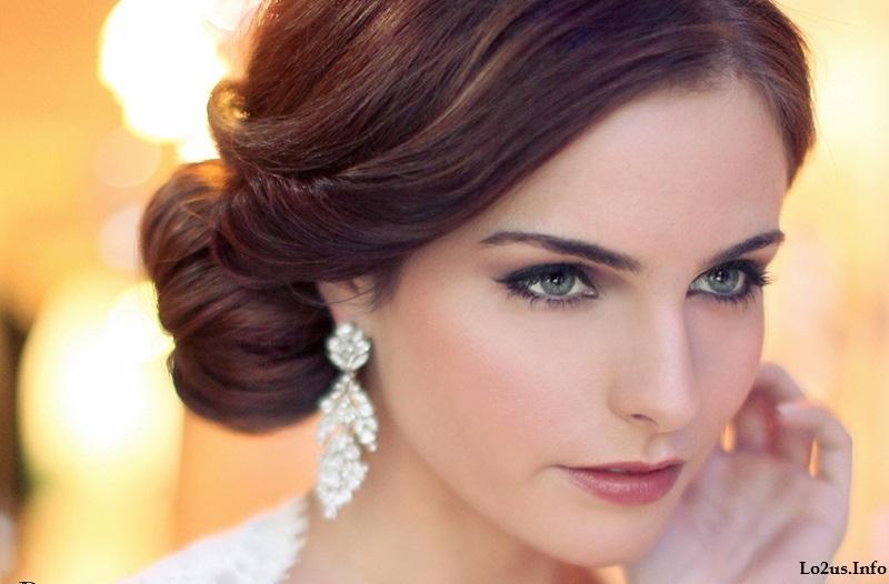 مدل ارایش صورت عروس زیبا