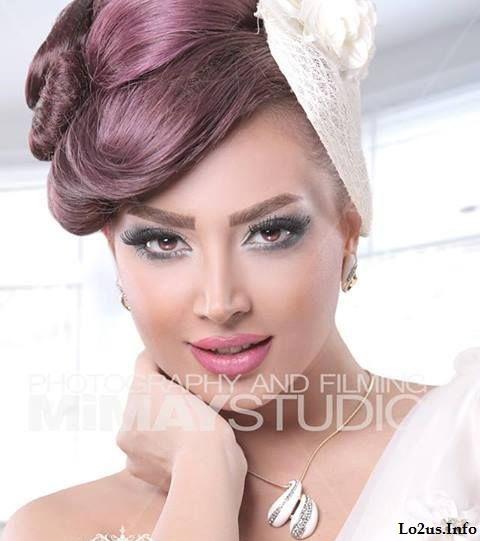 مدل آرایش عروس جدید ایرانی