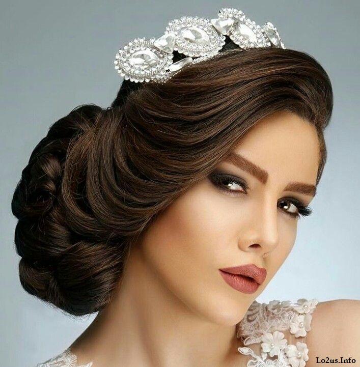 مدل آرایش عروس خیلی ساده