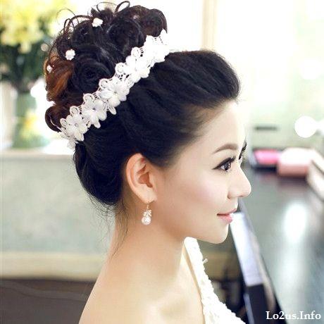 مدل ارایش عروس ب سبک اروپایی