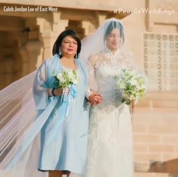 تصاویر از مراسم عروسی باشکوه پریانکا چوپرا و نیک جوناس