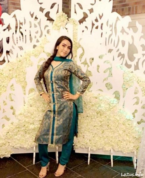 هانیه مزاری یا شوی شار در لباس وطنی