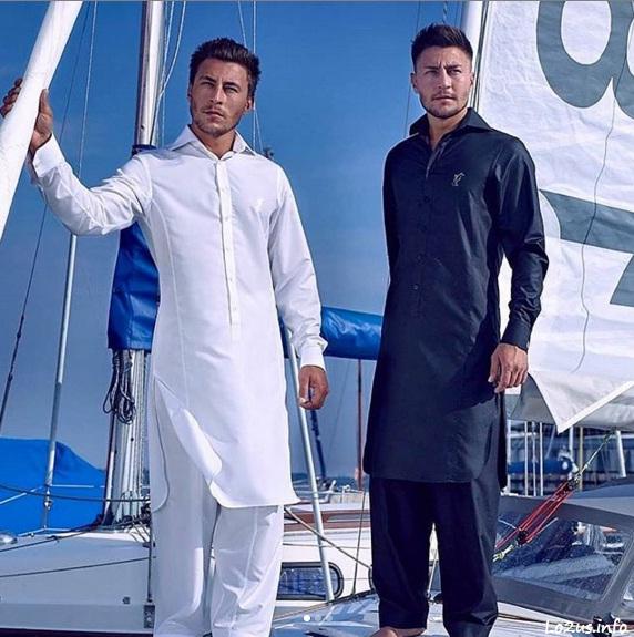 تصاویر مرد افغان با پیراهن و تنبان