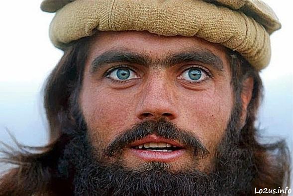 عکس یه مرد افغان با ریش
