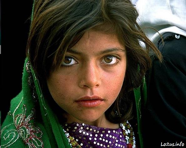 عکس دختر بچه افغان