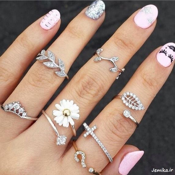 زیباترین مدل انگشترهای دخترانه سال