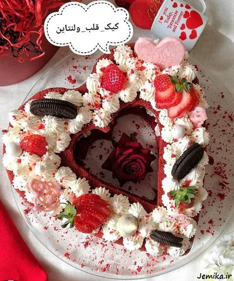 مدل کیک روز ولنتاین