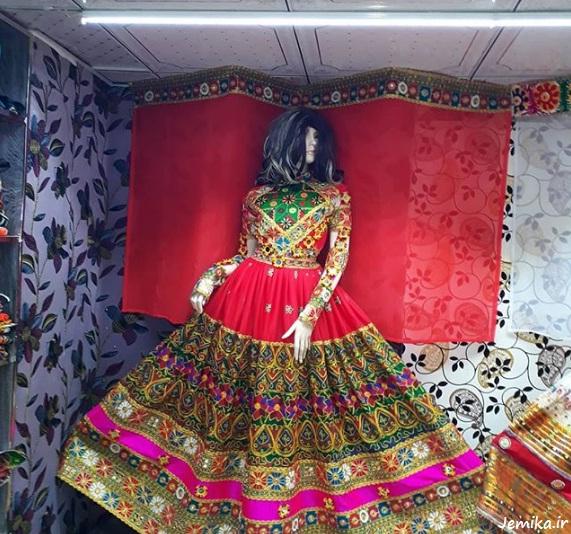 لباس مجلسی افغانی گند