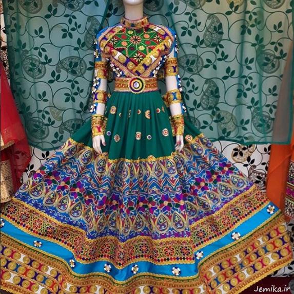 عکس لباس گند افغانی جدید