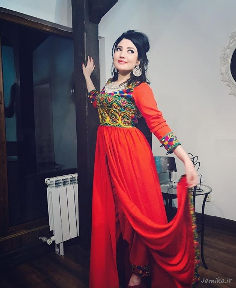 تصاویر لطیفه عزیزی دختر افغانستان