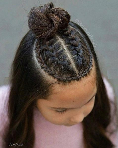 جدیدترین مدل موی بچه گانه