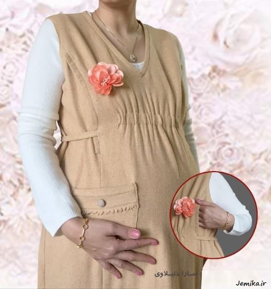 جدیدترین مدل لباس بارداری ایرانی