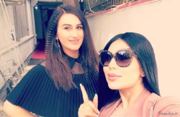 زیبا حمیدی همراه با آریانا سعید