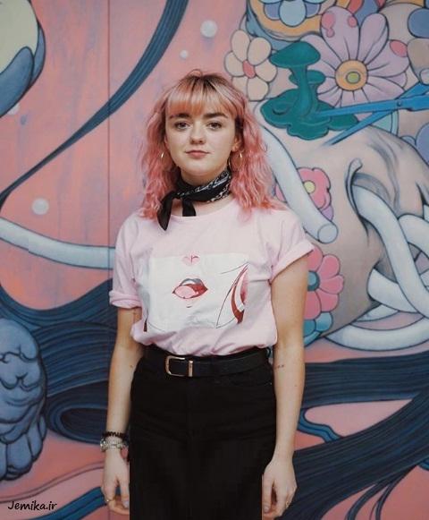 تصاویر جدید میسی ویلیامز Maisie Williams