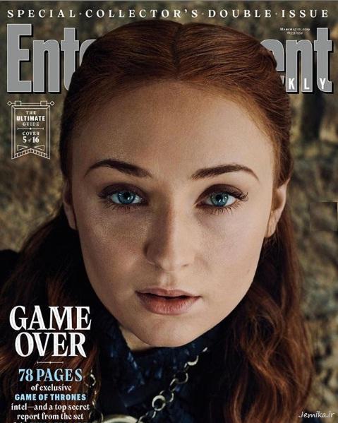 سانسا استارک Sansa Stark بازیگر گیم اف ترونز
