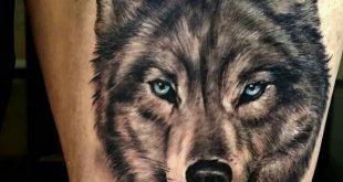 مدل تاتو جدید گرگ Wolf